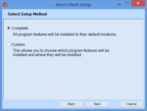 Installing the Aeon Client – Atlas Systems